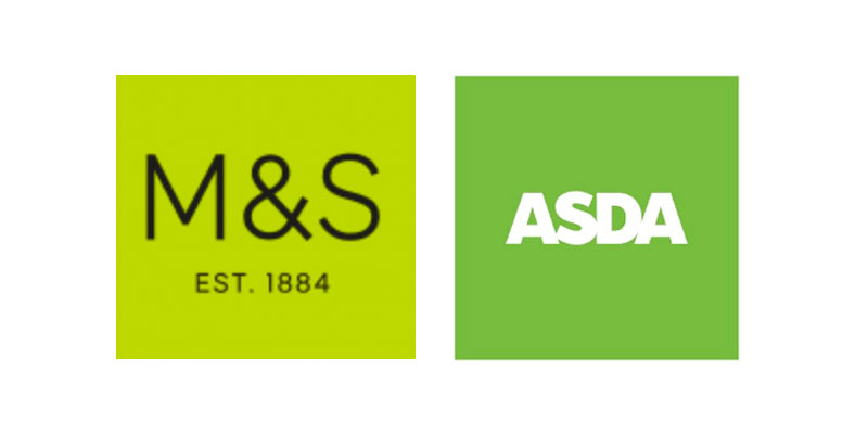 ASDA and M&S Volunteer Cards